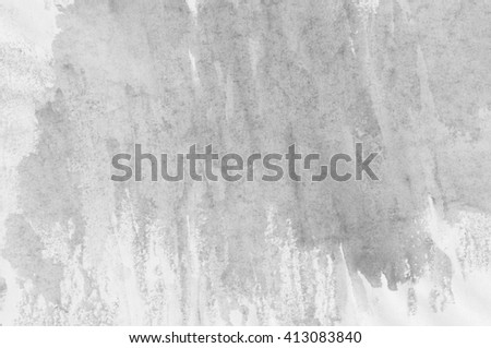 Abstract Painting Gray Background. Paper Texture - stock photo