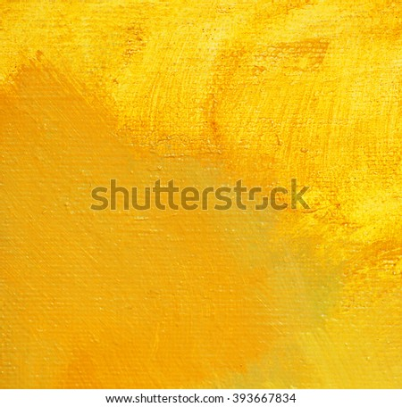 abstract painting on a canvas by oil, illustration - stock photo