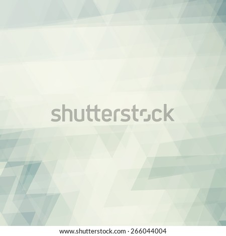 Abstract pale background textured by triangles. Squared raster pattern - stock photo