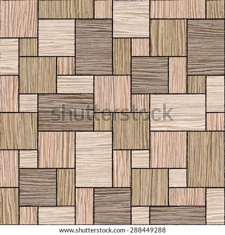 Abstract paneling pattern - Interior wall panel - decorative panels - Interior Design wallpaper - seamless background - Blasted Oak Groove wood texture