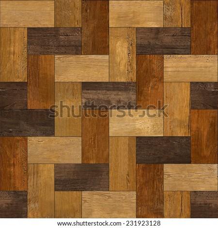 Abstract paneling pattern - seamless pattern - wooden rectangular parquet - rosewood veneer - wood paneling - wood texture - laminate floor - wooden surface - hardwood paneling - stock photo