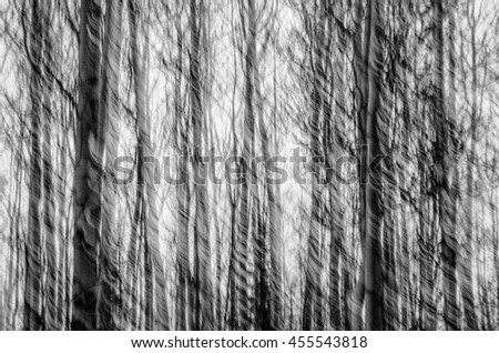 Abstract panning of trees
