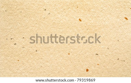 abstract paper textured background - page from vintage japanese book - stock photo