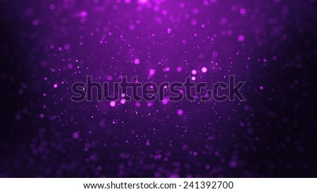 abstract particle background with shallow depth of field at the top and bottom of the screen - stock photo