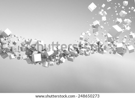 Abstract Particles Background