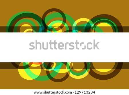 Abstract party cover background