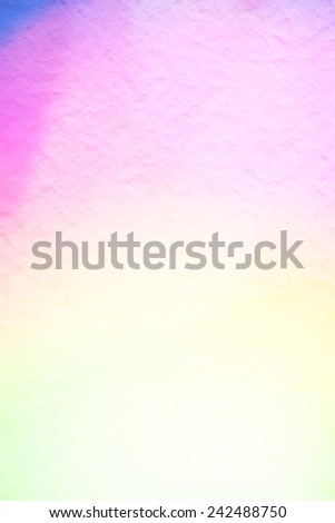 abstract pastel color tone bokeh on mulberry paper background. - stock photo