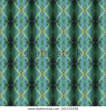 Abstract pattern background from green leaf