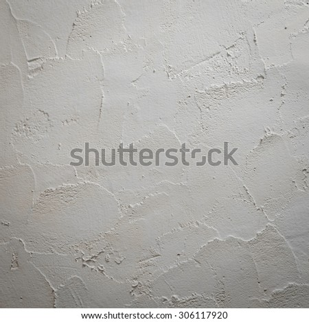 Abstract pattern of cement wall background. Rough plaster decorated wall texture.
