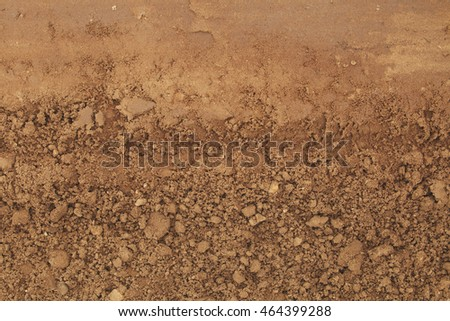 Abstract pattern of land (soil) background and texture.