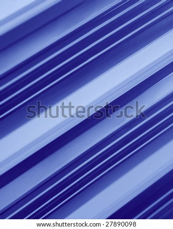 abstract pattern of metal fence - stock photo