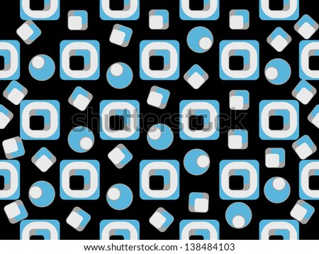 abstract pattern seamless. Raster copy of vector file
