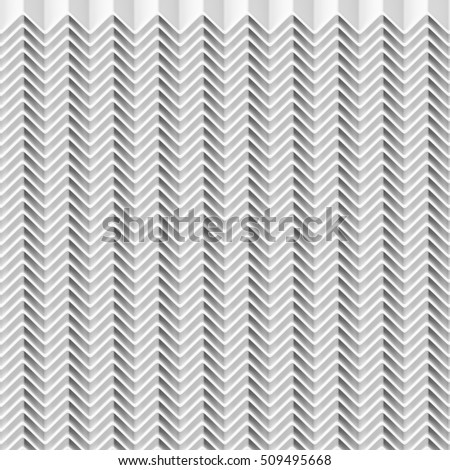 Abstract Pattern Zigzag line repeat, 3d illustration and Rendering textured background.