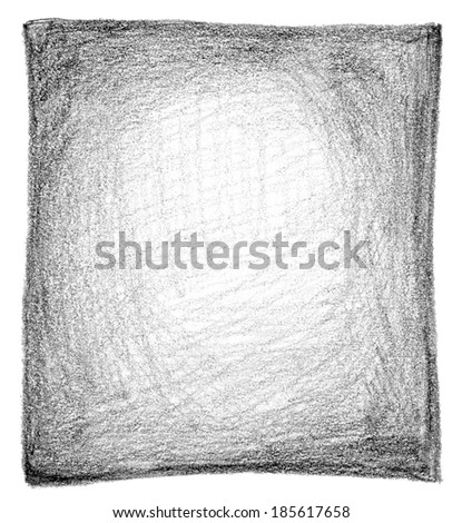 Abstract pencil scribbles background texture. - stock photo