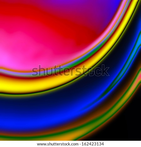 Abstract photo art illustration - stock photo