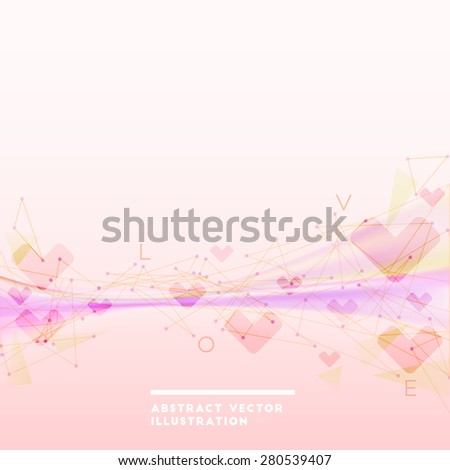 Abstract  pink backdrop