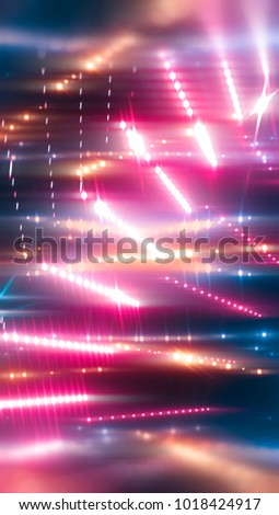 abstract pink background. horizontal lines and strips. illustration digital.