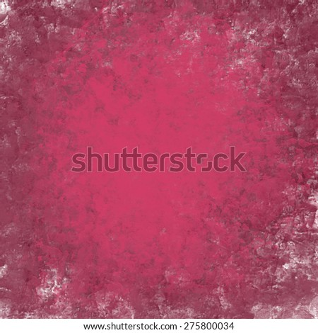 abstract pink background or purple paper with bright top spotlight and black vignette border frame with vintage grunge background texture pink paper layout design of light shabby colorful graphic art - stock photo
