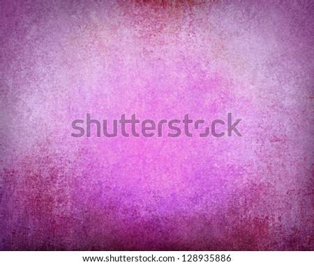 Abstract Pink Background Purple Black Border Grungy Vintage Grunge Texture Layout Design Light