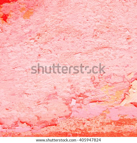 Abstract pink background texture of an old concrete wall