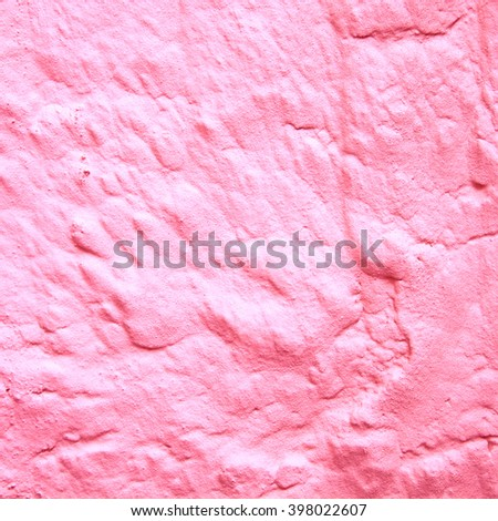 Abstract pink background texture stone wall