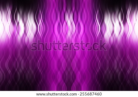 Abstract pink background with fractal waves - stock photo