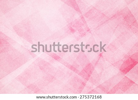 abstract pink background with white triangle pattern - stock photo
