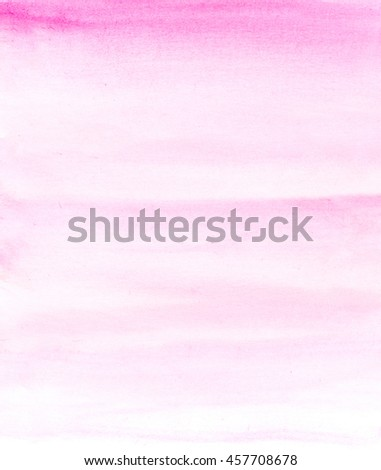 abstract pink brushed watercolor background  - stock photo