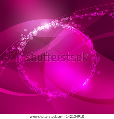 Abstract pink circle background