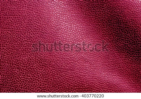 Abstract pink leather texture. Background and texture for design. - stock photo