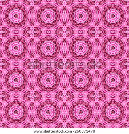 Abstract pink rose pattern background. - stock photo