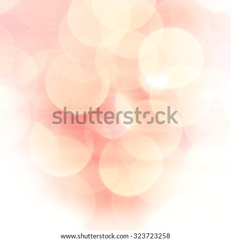 abstract pink soft circle bokeh background