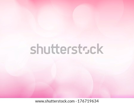 Abstract pink tone lights background. Blurred background. - stock photo