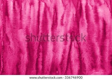 Abstract pink watercolor on paper texture can use as background - stock photo
