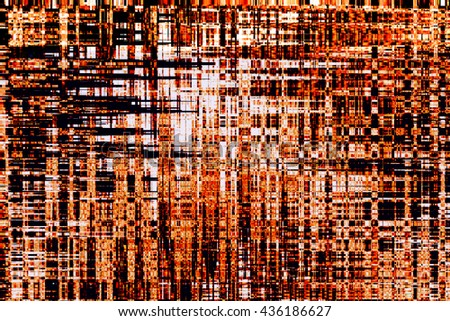 Abstract pixel art background