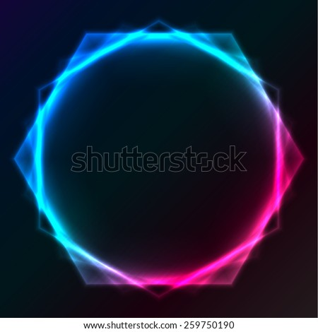 Abstract plasma lighting background