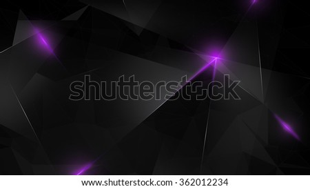 Abstract polygon background.