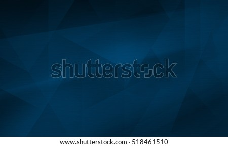 Abstract polygonal dark blue background, design template, textured backdrop.