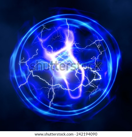 abstract power and electricity backgrounds for your design - stock photo