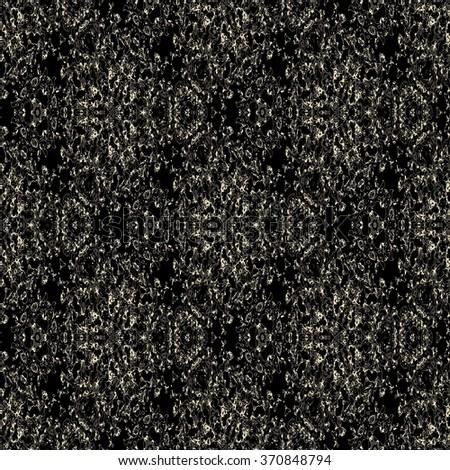 Abstract precise tiled paisley ornament. Seamless pattern or textures. Kaleidoscopic orient popular style
