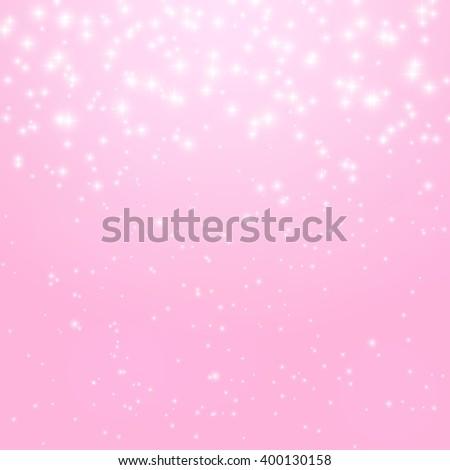 Abstract Princess Shiny Star Background Illustration.  - stock photo