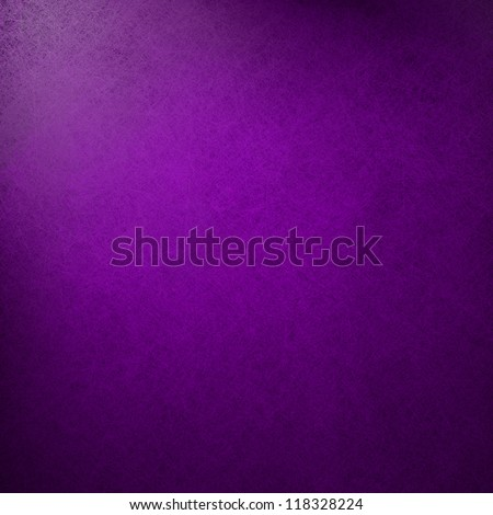 abstract purple background classic royal color, bright center spotlight, fine black vignette border frame of vintage grunge background texture purple paper layout design of light colorful graphic art - stock photo