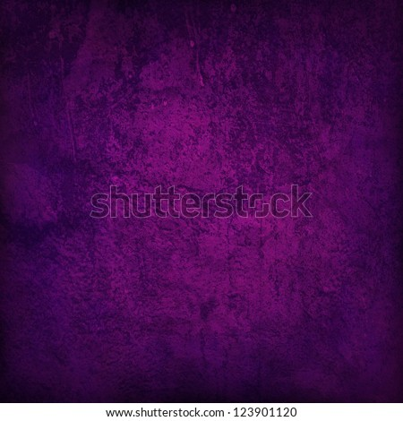 Abstract purple background or paper with bright center spotlight and dark border frame with grunge background texture. For vintage layout design of light colorful graphic art - stock photo
