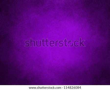 abstract purple background or purple paper with bright center spotlight and black vignette border frame with vintage grunge background texture purple paper layout design of light colorful graphic art - stock photo