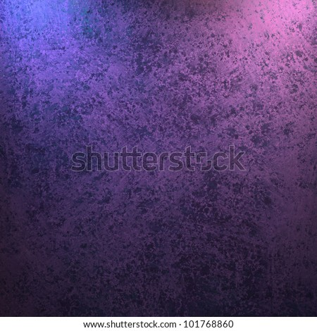 abstract purple background with elegant vintage grunge background texture and lighting with black border, old purple paper has stains and sponge design for website design background template - stock photo