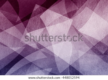 abstract purple blue background, random textured rectangles squares and triangle shapes in geometric pattern of angles and layers - stock photo