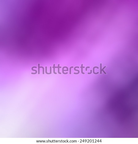 abstract purple blurred background colors in soft blended design with white spotlight or streaks of light in diagonal color splash - stock photo