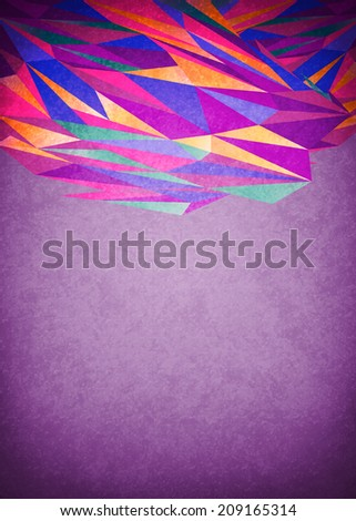 Abstract purple glowing background - ready for your text - stock photo