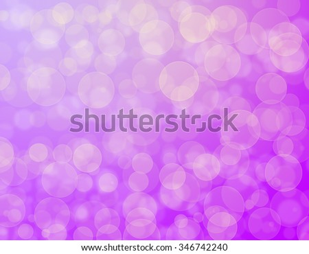 Abstract purple holiday background bokeh effect - stock photo