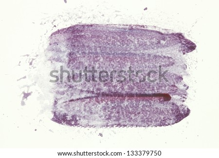 Abstract purple watercolor background.